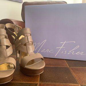Heels, Marc Fisher, Tan, Summer, Spring